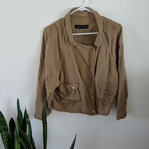 Zara Woman Snap Jacket